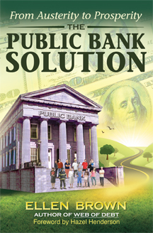 Image result for public banks funded by QE to create a green new deal